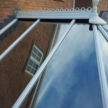 After cleaning Conservatory Roof Braintree