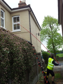 Difficult to reach Window Cleaning Maldon